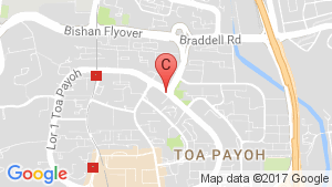 Gem Residence location map