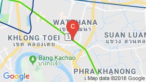 Vertier Sukhumvit location map
