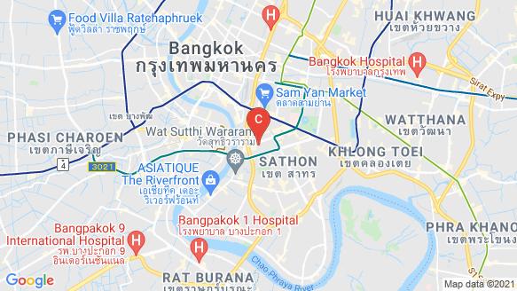 The Lofts Silom location map