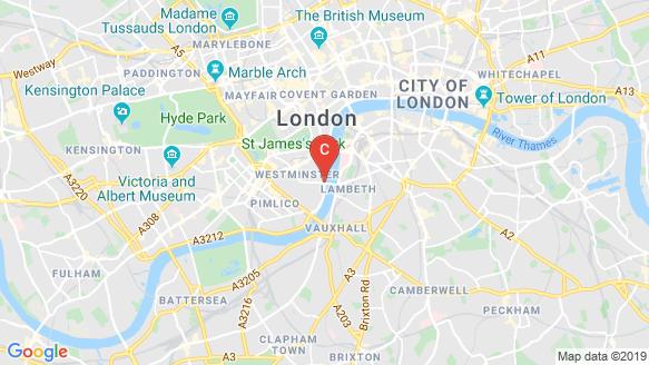 9 Millbank location map