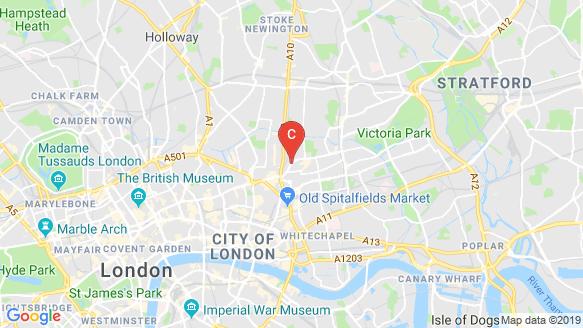 Shoreditch Exchange location map